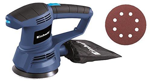 Einhell BT-RS 420 E - Lijadora electronica circular (420 W) color azul