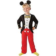 Toyland - Disfraz Mickey Mouse para niños, talla M, edad 5 - 6 años (VP-3610380-M)