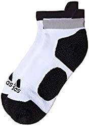 adidas Mens Printed Liners and Ankle Socks (AA2254_White, Grey and Black)