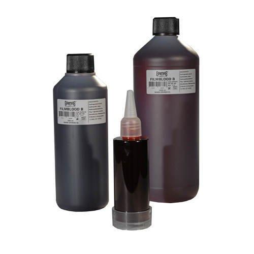 Grimas FILMBLUT B rot, dunkel, in 500 ml Flasche