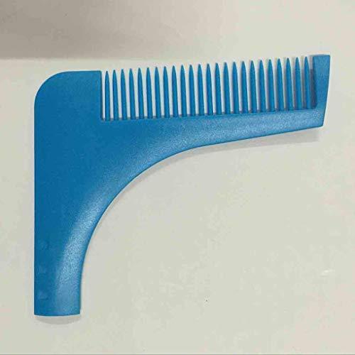 Perfekte Linien Symmetrie Bart Shaping Rasieren Werkzeug Kamm Rasierer für Männer ()