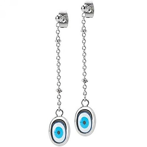Orecchini Donna Miss Sixty SMKZ06 Blue Eyes