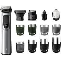 Philips MG7720 Serie 7000 Grooming Kit Rifinitore Impermeabile in Acciaio, con 14 Accessori, per Barba, Capelli e Corpo