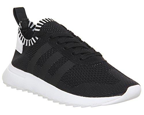 adidas Primeknit Flashback, Chaussures de Running Compétition Femme, Noir, Taille Unique Noir (Core Black/ftwr White/utility Black)