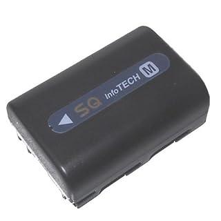 accu-batt Ersatzakku für Sony Sony NP-FM30, FM50, QM51