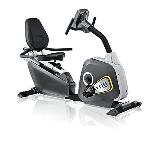 Kettler Heimtrainer Axos Cycle R - Farbe: Silber/Anthrazit - der ideale Sitzheimtrainer - Artikelnummer: