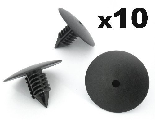 10x Renault Clips Para Paso De Rueda Guardabarros Cabeza 35mm Para Remaches Plásticos - Coche Grapas - Franqueo libre!