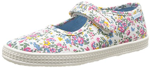Start-rite Posy, Girls' Boat Shoes, Multicolor (Neutral Floral), 11 Child UK (29 EU)