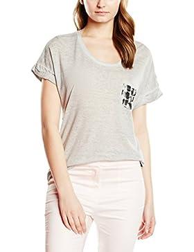 Vero Moda VMCORA SS WIDE TOP DNM WP3 - Camiseta Mujer