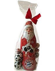 FC bayern münchen chocolat xL cadeau de noël, chocolat, schokofussbälle team massif-weihnachtsmänner)