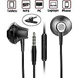 Écouteurs Oreillettes Intra auriculaire Haute Qualité Audio avec Microphone...