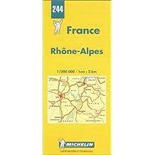 Michelin Karten, Bl.523 : Französische Alpen (Michelin Maps)