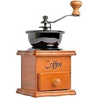 QTT Handkaffeemaschine, Handkurbel Bohnenmühle Kleine Mühle Kaffeemühle Keramik Mühle Kaffeemaschine