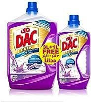 Dac Gold Disinfectant - Lavender, 3+1L