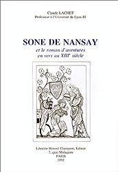 Sone de Nansay et le roman d'aventures en vers au XIIIe siècle