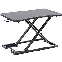 Large Laptop Table,Standing Desk Converter,Height Adjustable Sit Stand Desk,Stand Up Desk,Lightweight Ergonomic Desktop Monitor Laptop Riser Platform,Office Workstation,Lift Height From 6cm to 40cm