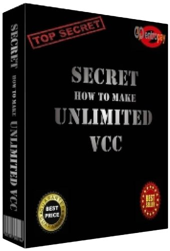 """Secret \""""How to make Unlimited VCC\"""" (English Edition)"""
