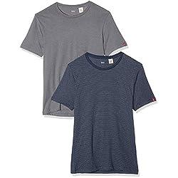 Levi s 2 Pack Crew Camiseta...