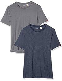 Levi's  2 Pack Crew - Camiseta para Hombre
