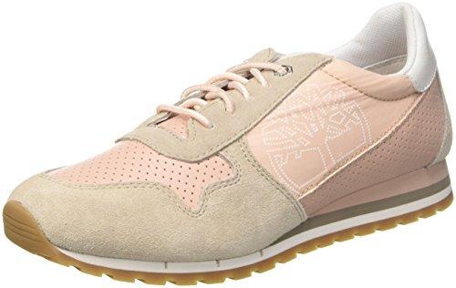 Timberland Elvissa Sea Leather, Zapatillas sin Cordones para Mujer, Marrón (Simply Taupe L47), 39 EU