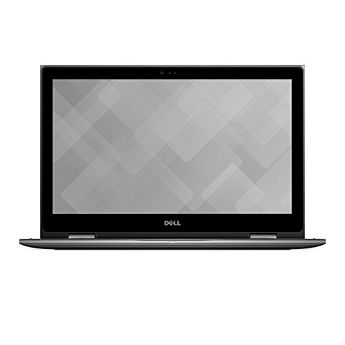 Dell 5578-1777 39,62 cm (15,6 Zoll Full HD Touch) Inspiron 15 5000 2-in-1 Notebook (Intel Core i5-7200U, 8GB RAM, 256 GB SSD, HD Graphics 620, Win 10 Home) schwarz/grau