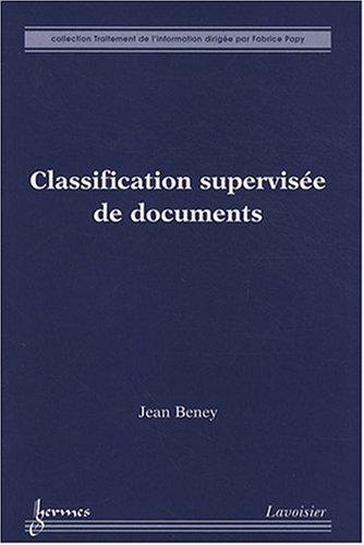Classification supervisée de documents