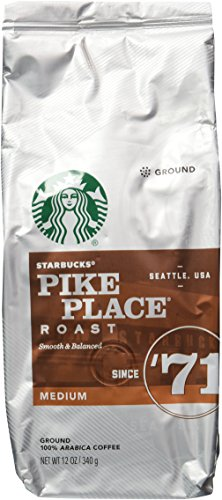 A photograph of Starbucks Pike Place