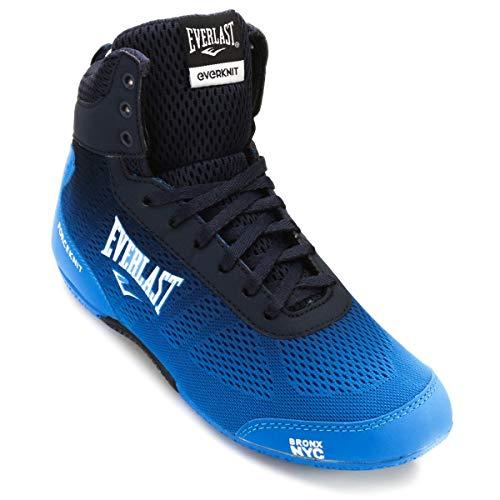 Everlast, Boxschuhe Force Knit - blau orange Mid Low Top Boxerstiefel Herren Männer blau/blau 46 (12)