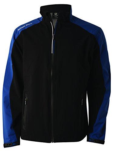 Wilson Regenanzug Jacke für Golfer, Performance Top, Polyester, schwarz, Gr. M Top-performance-jacke