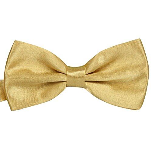 noeud-papillon-or-clair-unis-pour-mariage-travail-ou-tout-autre-evenement