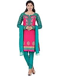 Manmandir Womens Cotton Straight Salwar Kameez Readymade - B077RH52S1