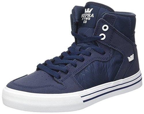 SupraVaider - Sneakers alte Uomo Blau (Midnight-White)