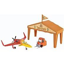 Planes - Box Hangar de carreras, Ishani (Mattel Y8994)