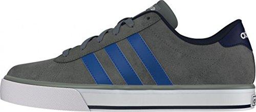 adidas  Daily, basket hommes Gris / Bleu / Bleu marine