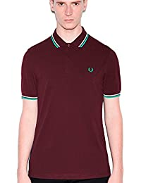 Polo Fred Perry M3600 Bordeaux D37