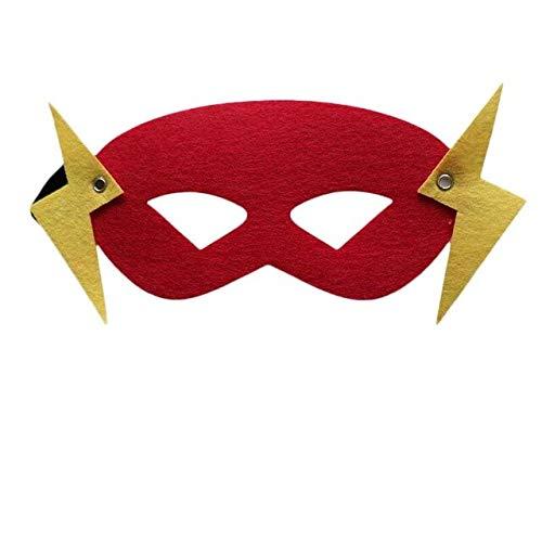 Superheld Maske Cosplay Superman Spiderman Hulk Thor Ironman Flash Prinzessin Halloween Weihnachten Kinder Erwachsene Party Kostüme Masken, wie die Bilder (Kostüme Für Kinder-hulk)