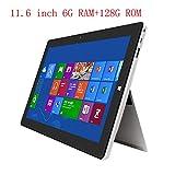 Jumper EZpad 6s Pro 2 en 1 Tablette 11.6 Pouces FHD IPS Windows Tablette Intel Apollo Lake N3450 tablettes 6GB DDR3L 64GB eMMC+64GB SSD Tablet PC (Seulement Tablette)