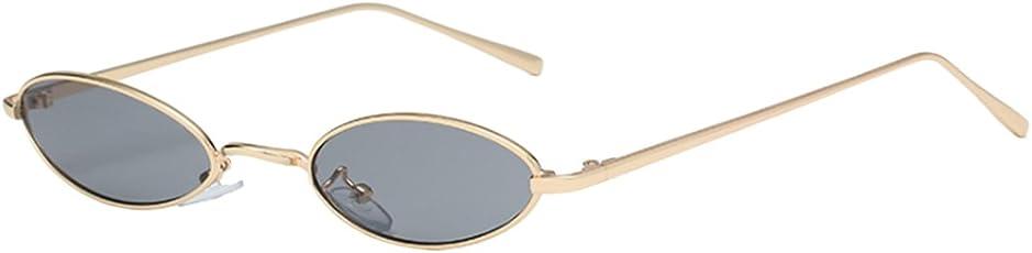 Outgeek Vintage Sunglasses Photo Sunglasses Fashionable Small Metal Frame Sunglasses Uv400 Sun Glasses