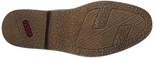 Rieker - 13411, Scarpe stringate basse derby Uomo Marrone (Braun (tan/orange / 21))