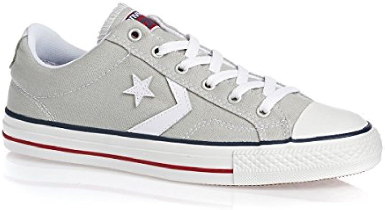 Converse - Zapatillas de cuero unisex, color marrón, talla 44,5 -