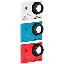 SJCam SJ-3COL-5000+ - Kit original SJCAM de 3 carcasas frontales intercambiables compatibles con el modelo SJCAM SJ5000 Plus, multicolor