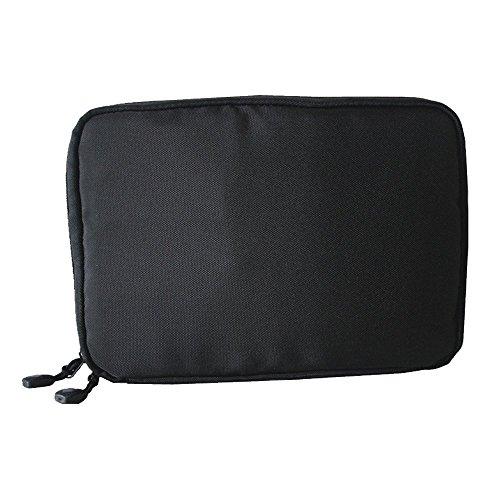 Eizur Impermeabile Travel Gear Organiser Custodia da Viaggio Accessories Borsa da Viaggio per Dispositivi Elettronici Accessori Cavi Hard Disk Chiavette USB Dimensione 22.6*15.7*3.6cm--Nero