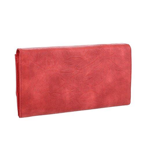Taschen Used Optik Schultertasche Rot