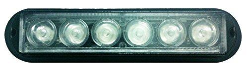 LED Voiture Car Avertissement 6modes flash 12V 6W de danger de sécurité d'urgence de la torche électrique Grille Du précipité de la plate-forme Strobe Light Lamp Bar KM202–6B personalizzare