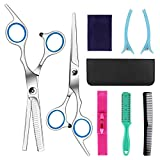 Best Haircutting Scissors - Hairdressing Scissors Kits Stainless Steel Hair Cutting Shears Review