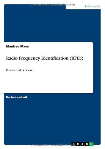 Radio Frequency Identification (RFID) by Manfred Mann (2010-01-05)