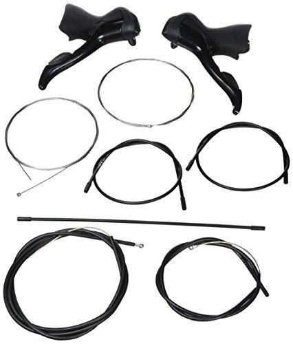 Shimano Sora ST-3500 Dual Control Hebelpaar 2x9 mica-black 2016 Schalthebel Set (2x7-rennrad-schalthebel)