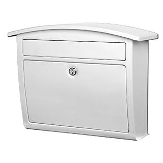 Dal Rae Briefkasten, zur Wandmontage, Weiß