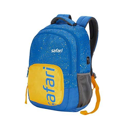 Best safari backpacks in India 2020 SAFARI 32 Ltrs Blue Casual Backpack (FRECKLEUSB19CBBLU) Image 2