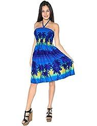 La Leela jupe maxi robe courte douce likre décontractée plage palmier soir d'été